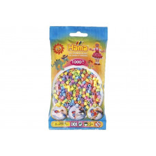 Hama - Midi perler 1000 stk. - Pastel mix
