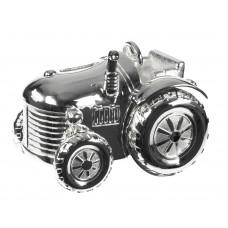 Nordahl Andersen - Sølvplet Sparebøsse - Traktor