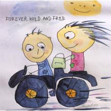 Tusindfryd - Tillykke Kort - Forever wild....