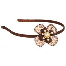 Lalo - Hårbånd - Brown elegance