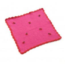 Smallstuff - Dukke tæppe - Mariehøne