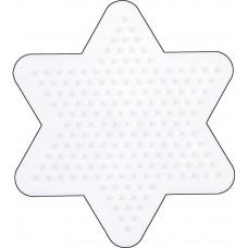 Hama - Midi perleplade - Gul Lille stjerne
