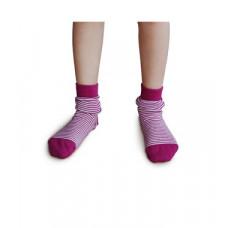 Smallstuff - Ankel sokker - Størrelse 29-32 - Fuchsia