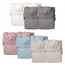 Leander - Organic faconlagen til babyseng - 2-pak - 6 farver
