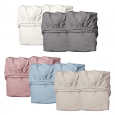 Leander - Organic faconlagen til junior seng - 2-pak - 6 farve