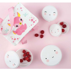 A Little Lovely Company - Snack boxe - Happy face