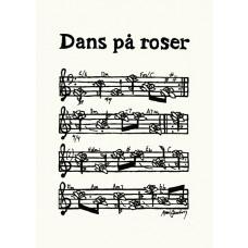 Anni Gamborg - Node Tillykke kort - Dans På Roser