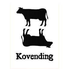Anni Gamborg - Lykønskningskort - Kovending