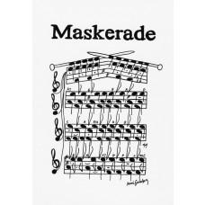 Anni Gamborg - Node Tillykke kort - Maskerade