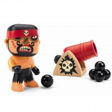 Djeco - Arty Toys - Piratfigur – Ric & boumcrak