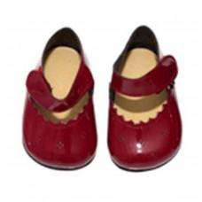 Asi - Dukke tilbehør - Dukke sko - Mørkerød