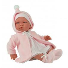 Asi - Baby dukke - Maria med lyserød jakke 43 cm