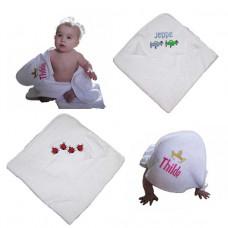 Baby badeslag - Hvid