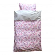 Baby sengetøj - Enhjørning med glimmer