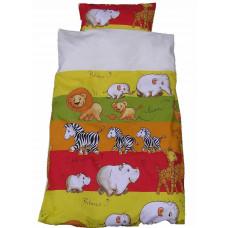 Baby sengetøj - Vilde dyr