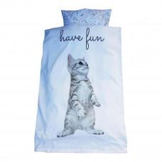 Baby sengetøj - Øko-Tex - Kat