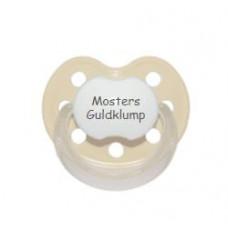 Baby Nova - Anatomisk sut - Str. 2 (6-36 mdr.) - Mosters Guldklump - 1 stk.- latex - beige