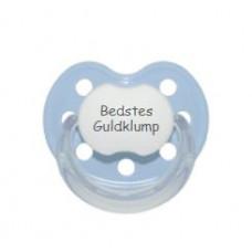 Baby Nova - Anatomisk sut - Str. 2 (6-36 mdr.) - Bedstes Guldklump - 1 stk. - latex - lyseblå