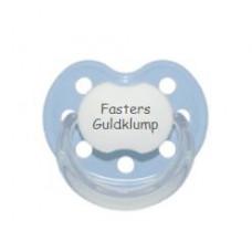 Baby Nova - Anatomisk sut - Str. 2 (6-36 mdr.) - Fasters Guldklump - 1 stk. - latex - lyseblå
