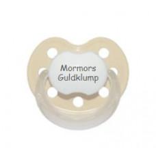 Baby Nova - Anatomisk sut - Str. 2 (6-36 mdr.) - Mormors Guldklump - 1 stk. - latex - beige