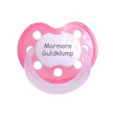 Baby Nova - Anatomisk sut - Str. 2 (6-36 mdr.) - Mormors Guldklump - 1 stk. - latex - pink