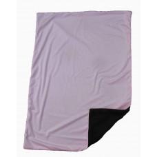 Babytæppe - Minky fleece tæppe - Lyserød