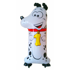 Animaloons tal ballon - Fødselsdags ballon - 1. - Hund