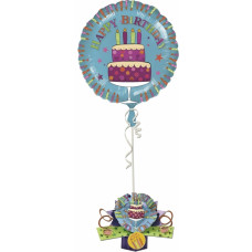 Happy Birthday - Pop up ballon kort