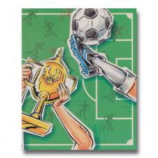 Personlig børnebog - Fodbold bogen