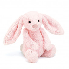 Jellycat - Bashful kanin 31 cm - Lyserød
