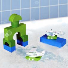 BathBlocks - Badelegetøj - Vandflyver & helikopter