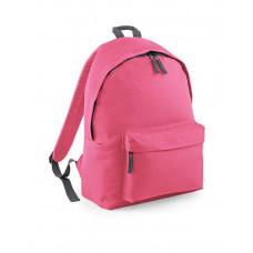 BagBase - Børnerygsæk - Junior -  Med og uden brystspænde - True pink