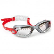 Bling2O - Svømmebriller - Haj rød/grå