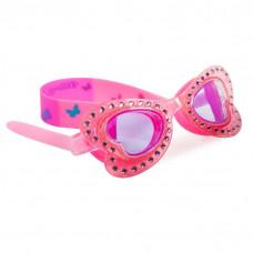 Bling2O - Svømmebriller - Sommerfugl pink