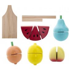 Bloomingville Mini - Legemad i træ - Blandet frugt