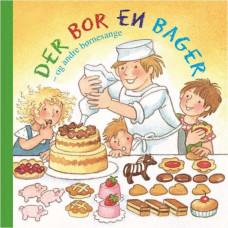 Forlaget Bolden - Snip snap snude minibøger - sangbog - Der bor en bager