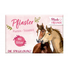 Børne plaster - Heste med glimmer