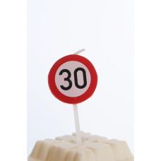 Kagelys - Færdselstavle - 30