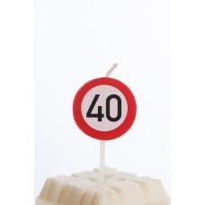 Kagelys - Færdselstavle - 40