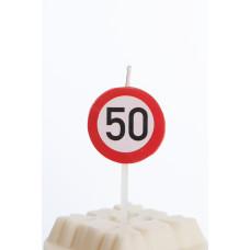 Kagelys - Færdselstavle - 50