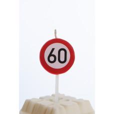Kagelys - Færdselstavle - 60