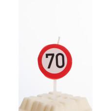 Kagelys - Færdselstavle - 70