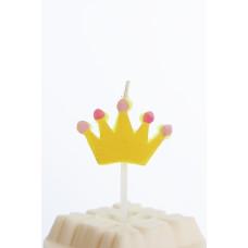 Kagelys - Motiv lys - Prinsesse krone