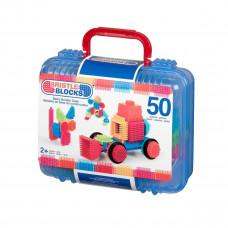 Bristle Blocks - Samleklodser - Kuffert med 50 stk