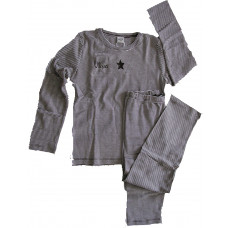 Smallstuff - Pyjamas - Brun - Str. 110-116