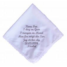 Bryllups lommetørklæde