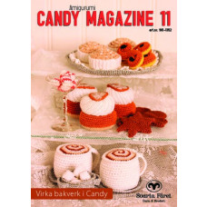 Candy Magazine 11 - Hækleopskrifter til Lækre kager og kaffebord