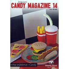 Candy Magazine 14 - E-opskrift - Hækleopskrifter til Fastfood lækre burger og pizza