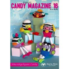 Candy Magazine 16 - Hækleopskrifter til sjove figurer
