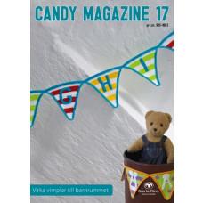 Candy Magazine 17 - Hækleopskrifter til søde vimpler